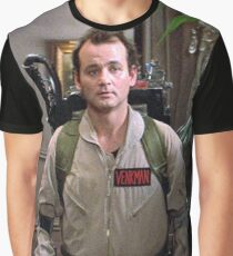 Ghostbusters - Peter Venkman Graphic T-Shirt