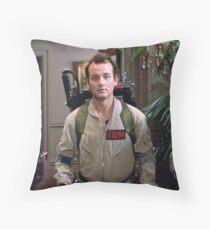 Ghostbusters - Peter Venkman Throw Pillow