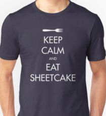 Keep Calm and Eat Sheetcake T-Shirt