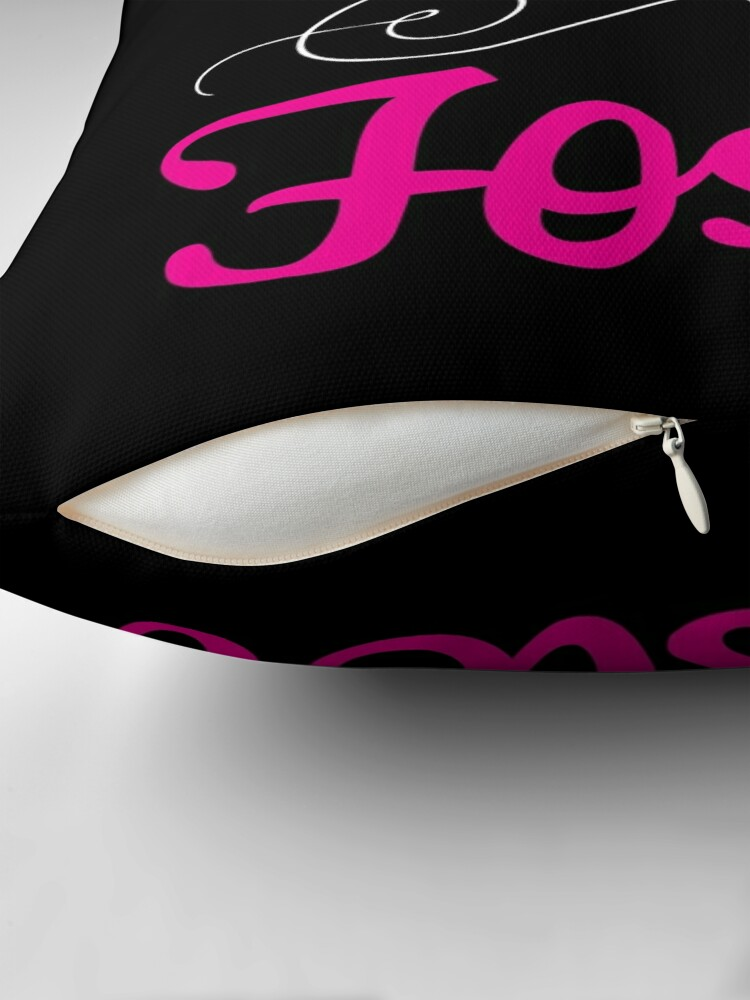 Alternate view of Give Love, Give Hope, Foster Throw Pillow