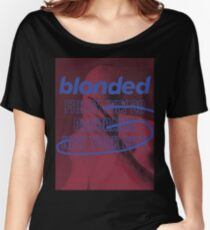 blonded Panorama Red (no globe) Women's Relaxed Fit T-Shirt