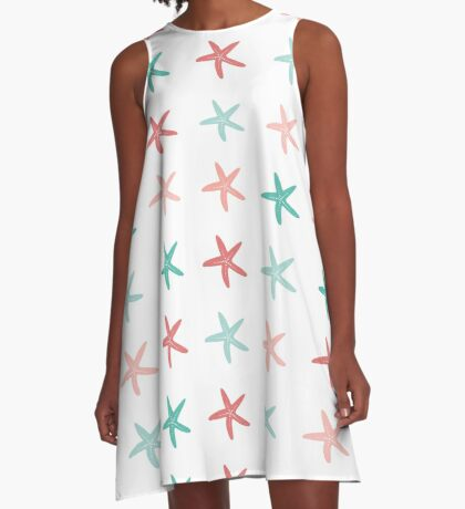 AFE Starfish Pattern II A-Line Dress