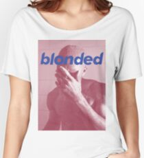 Red Frank blonded Women's Relaxed Fit T-Shirt