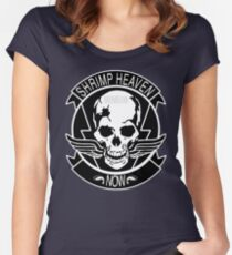 SHRIMP HEAVEN NOW Women's Fitted Scoop T-Shirt