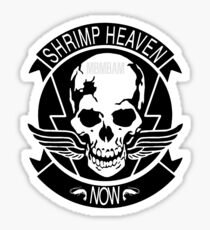 SHRIMP HEAVEN NOW Sticker