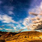 Moonlight over Painted Hills by Richard Bozarth