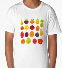 Happy Fruit Long T-Shirt