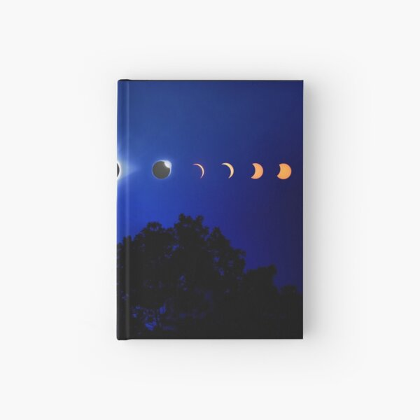 Solar Eclipse 2017 Hardcover Journal