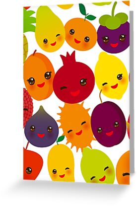 Happy Fruit by EkaterinaP