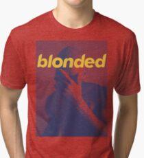 Blue Frank blonded Tri-blend T-Shirt