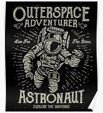 Outer-space Adventurer  Poster