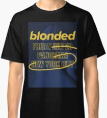blonded Panorama Blue (no globe) Classic T-Shirt