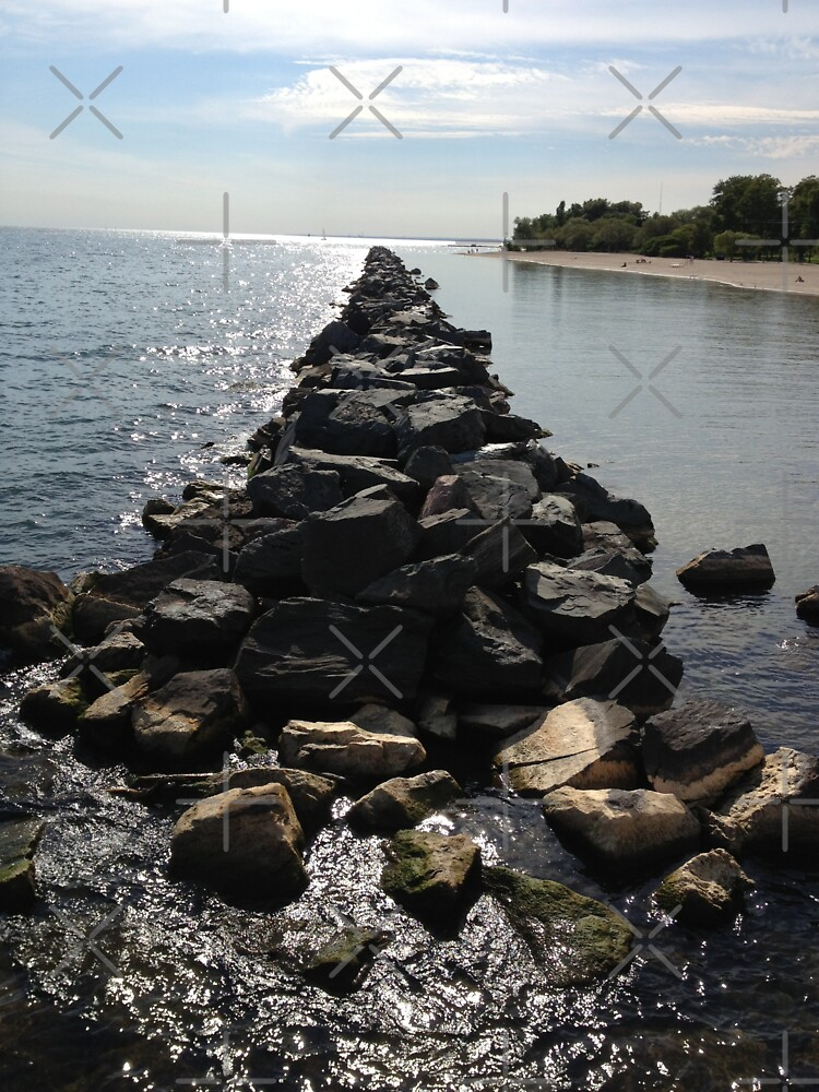 Water and rocks  by PicsByMi