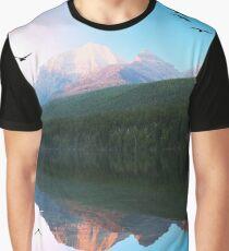 Water Mountain Graphic T-Shirt