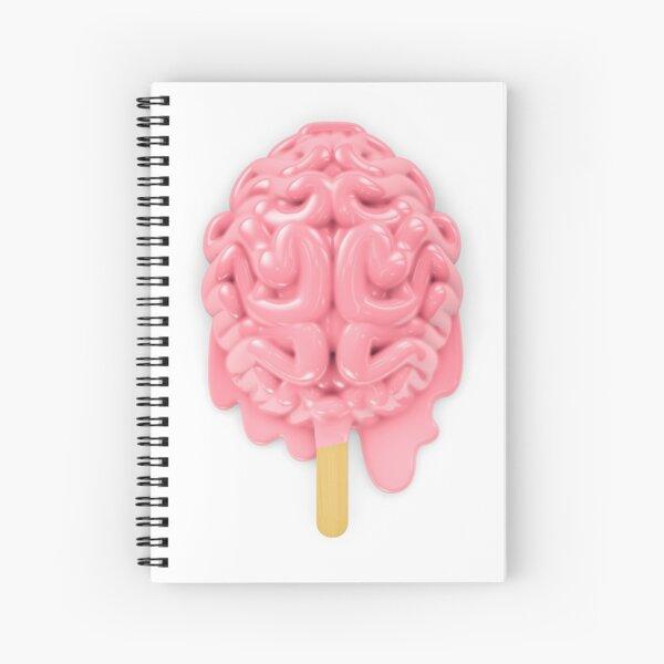 Fusión cerebral de paletas Cuaderno de espiral