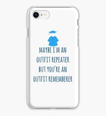 Lizzie McGuire You Are An Outfit Repeater iPhone Case/Skin