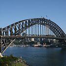 Sydney Harbour Bridge by Robyn Williams