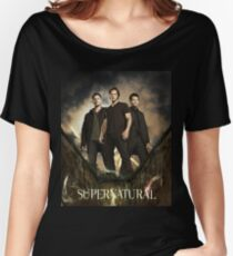 Sam and Dean Supernatural 08 Women's Relaxed Fit T-Shirt
