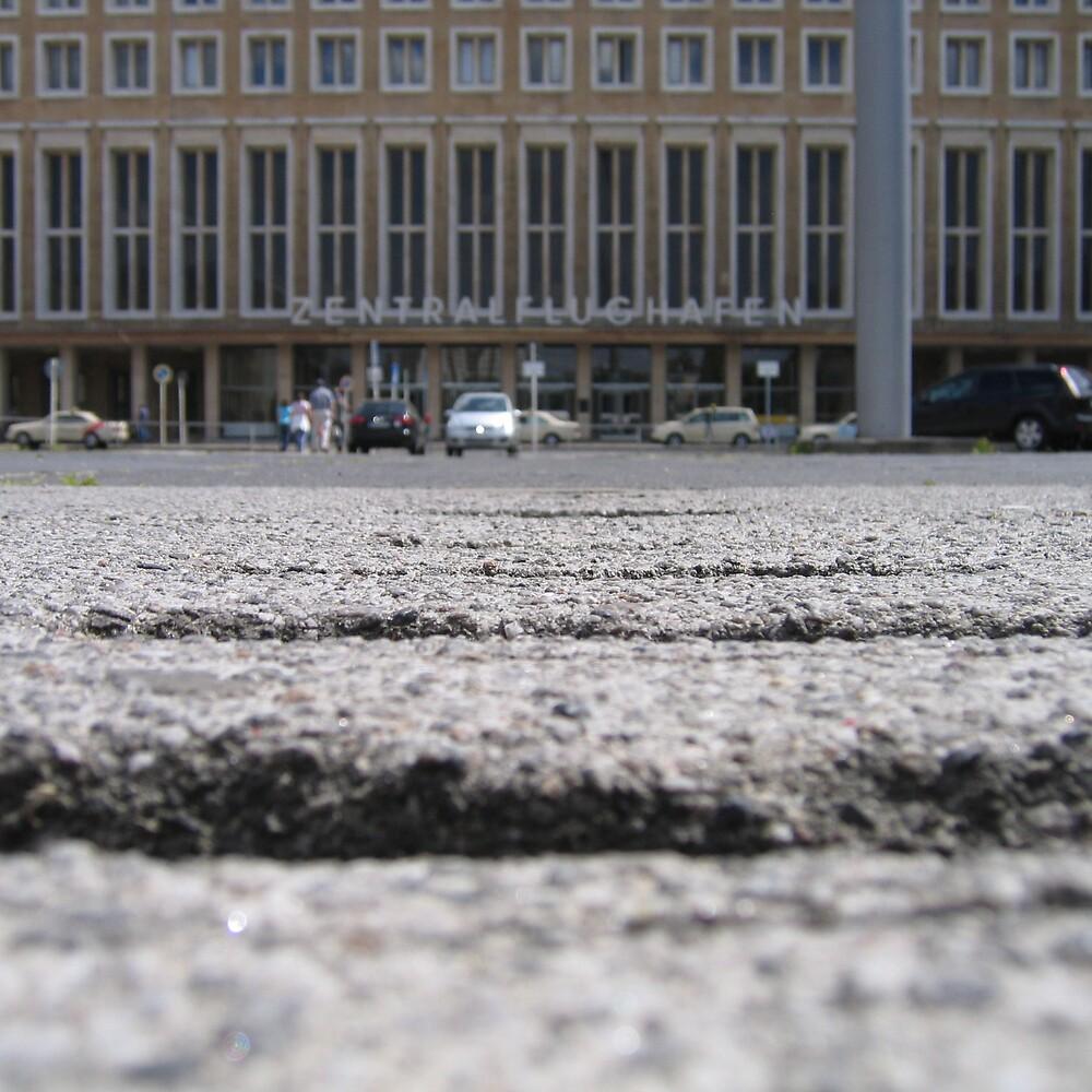 Berlin Tempelhof Front Entrance by Lothar Maier