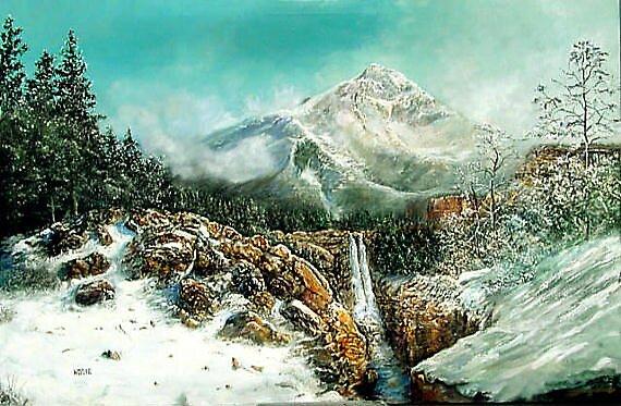 WATERFALL by William Hosie