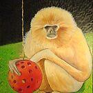 Psychic Monkey by Scott Plaster