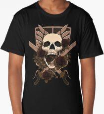 titans skull Long T-Shirt