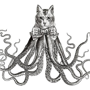 Octopussy | Black and White by EclecticAtHeART
