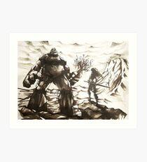 Giant Ogre Art Print