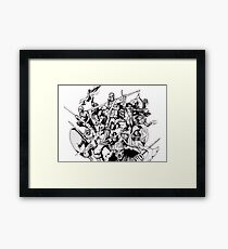 The Undead Dozen Framed Print