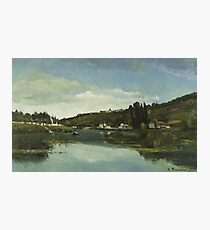The Marne at Chennevières 1864 The Marne at Chennevières Photographic Print
