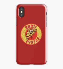 Bub's Pizzas (Shaun of the Dead) iPhone Case/Skin