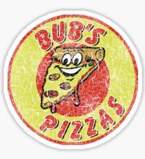 Bub's Pizzas (Shaun of the Dead) Sticker