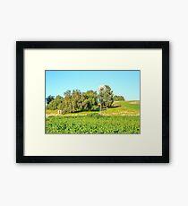 Windmill Dookie Hills... Framed Print