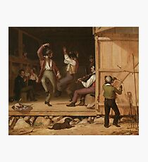 Dance of the Haymakers (Music is Contagious) by William Sydney Mount,  Photographic Print
