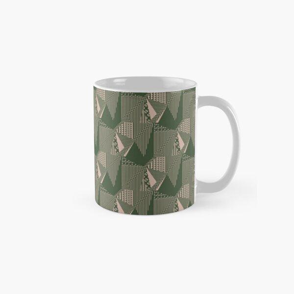 40's bold retro pattern Classic Mug