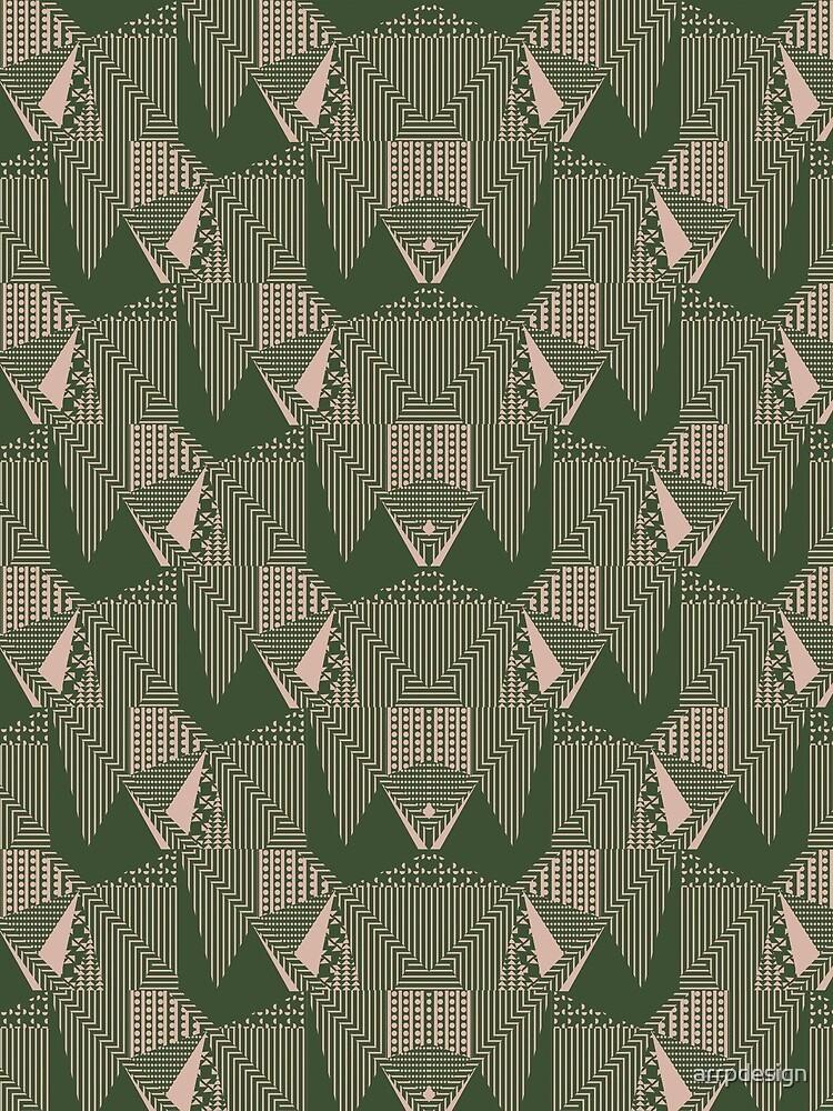40's bold retro pattern by arrpdesign