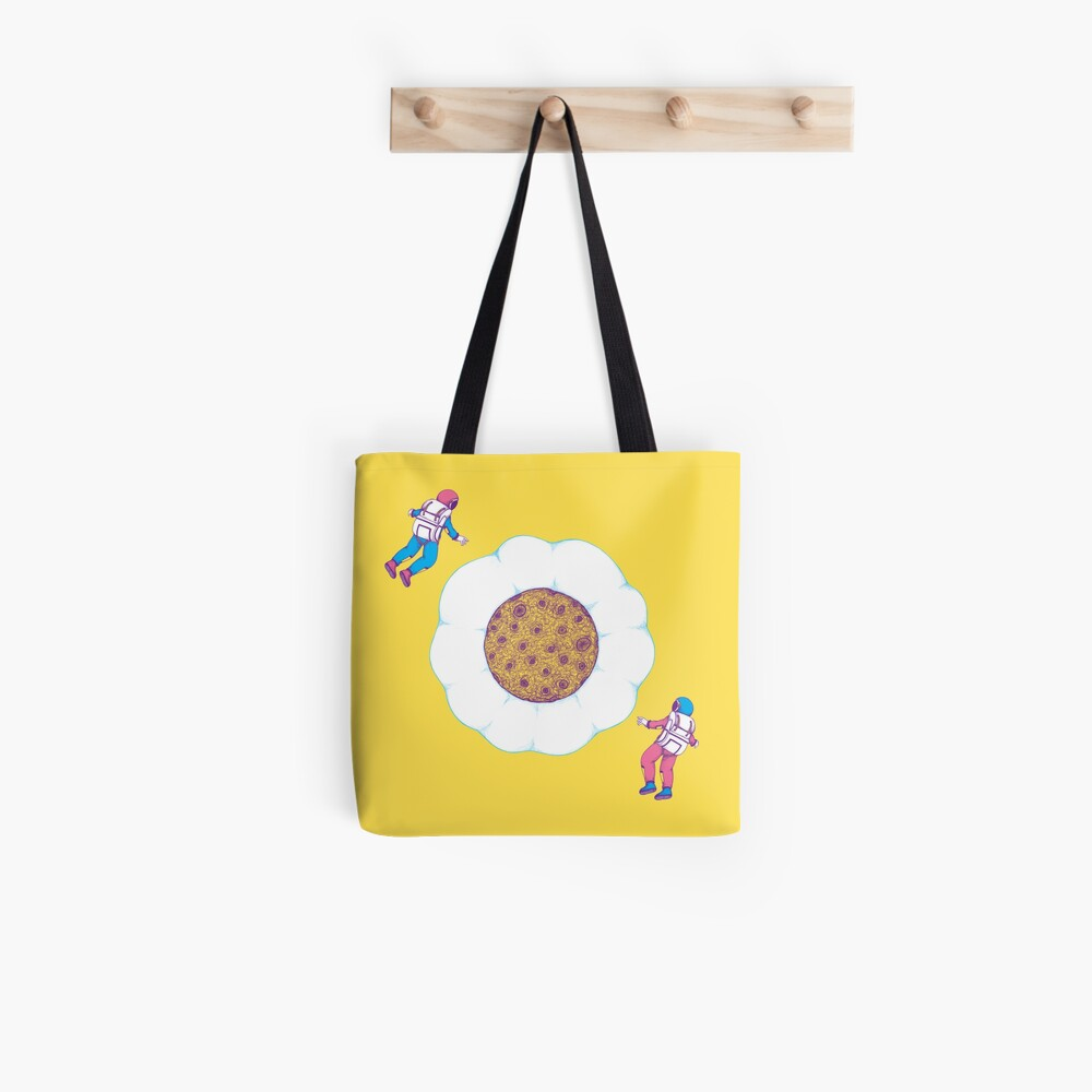 Moon Yolk Tote Bag