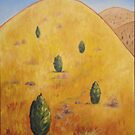 Yellow Mountain by Scott Plaster