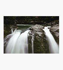 PNW Waterfall - Pacific Northwest Forest Adventure Photographic Print