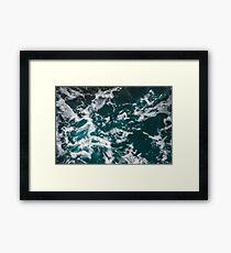 Wild Ocean Waves II Framed Print