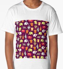 Funny elephants Long T-Shirt