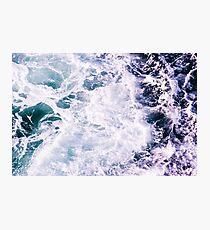 Hypnotic Ocean Sea Waves Photographic Print