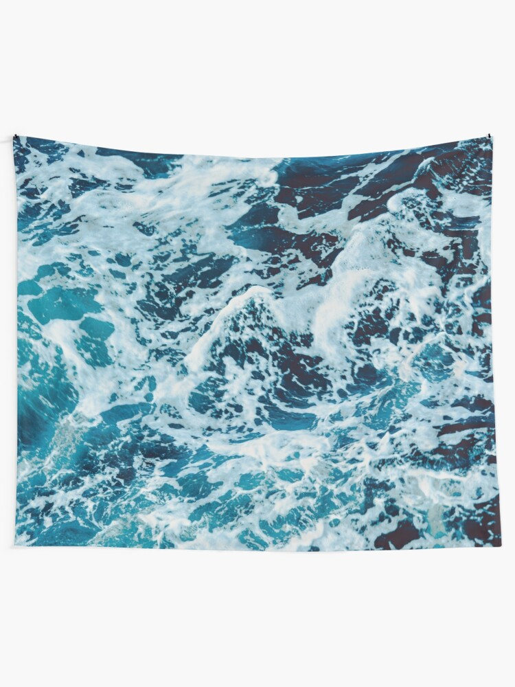Ocean Wave Wall Tapestry Wall Hanging Sea Tapestry Bedspread Decor New Chic