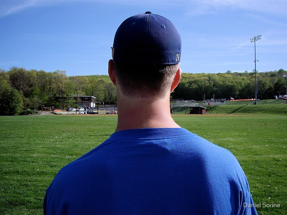 The baseball player by Daniel Sorine