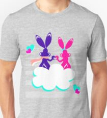 Love is.. / Couple of bunnies in love  Unisex T-Shirt