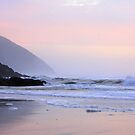 Òregon coast with Pastel sunset by aussiedi