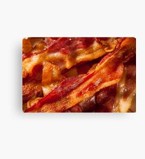 Bacon | Foodie Canvas Print