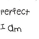 Nobody is perfect by Ian McKenzie