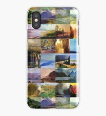 Neural Net Generated Landscapes iPhone Case/Skin