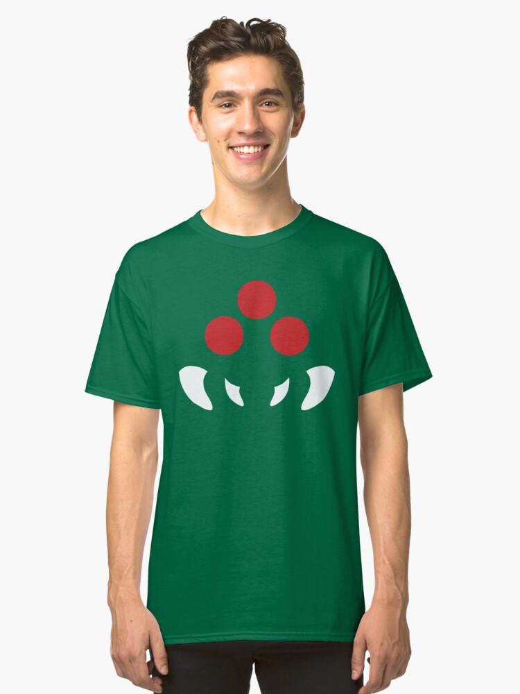 Minimal Metroid (Circular) Classic T-Shirt Front